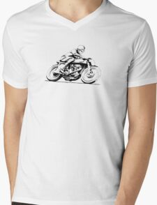 Norton Vintage Motorcycle Mens V-Neck T-Shirt