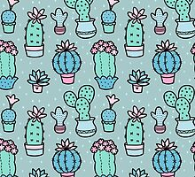 Pretty Cacti by Zoe Lathey