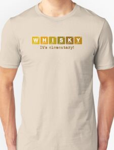 Whisky - It's Elementary! T-Shirt