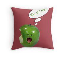 YOu biT ME!-For Prints Throw Pillow