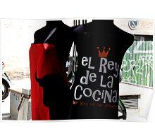 The king of the kitchen - El rey de la cocina - OLE'! Poster
