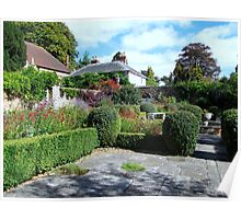The Dutch Garden at Stansted House Gardens Poster