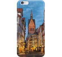 Old town of Hannover, Germany iPhone Case/Skin