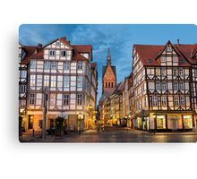 Old town of Hannover, Germany Canvas Print