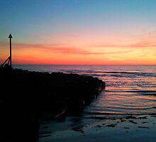 Dinas dinlle sunset by Dani Hughes