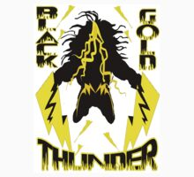 Black & Gold Thunder by spaceyqt