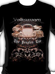 Volkswagen Tee Shirt: People's Car-Bronze T-Shirt