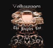 Volkswagen Tee Shirt: People's Car-Bronze Unisex T-Shirt