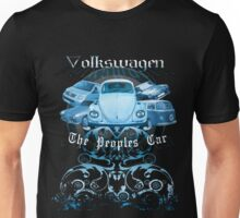 Volkswagen Tee Shirt: People's Car - Blue Unisex T-Shirt