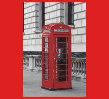 London phone box One Piece - Short Sleeve