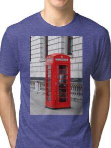 London phone box Tri-blend T-Shirt
