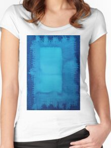 Undiscovered Country original painting Women's Fitted Scoop T-Shirt