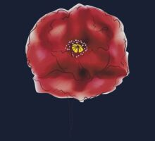 Digital Watercolor Poppy 2 Kids Clothes