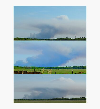 Forest Fire Photographic Print