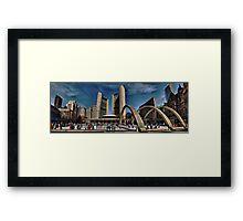 nathan phillips square Framed Print