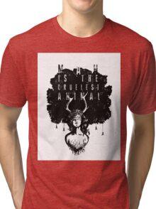 True Detective fan art Tri-blend T-Shirt