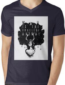 True Detective fan art Mens V-Neck T-Shirt