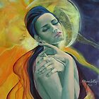 Sun love Moon by dorina costras
