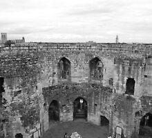 Inside York castle by Emma Hughes