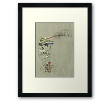 The Monkey Soldier Framed Print