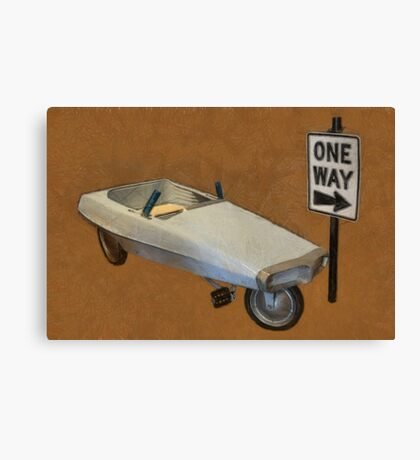 Probe Pedal Car Canvas Print