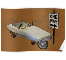 Probe Pedal Car Poster