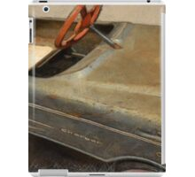 Charger Pedal Car iPad Case/Skin