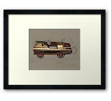 Ranch Wagon Pedal Car Framed Print