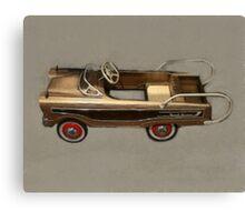 Ranch Wagon Pedal Car Canvas Print