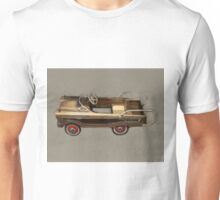 Ranch Wagon Pedal Car Unisex T-Shirt