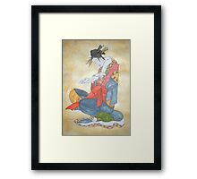 Letter to a Geisha Framed Print