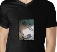 Inked Blue Beauty Mens V-Neck T-Shirt