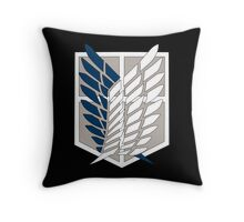 Attack on Titan Scouting Legion Logo  Anime Shingeki no Kyojin Anime t shirt  Throw Pillow