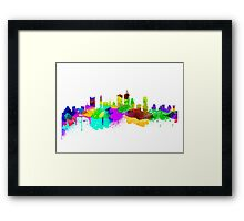 Boston USA Skyline Framed Print
