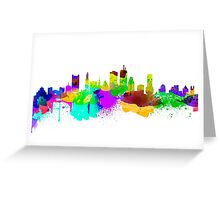Boston USA Skyline Greeting Card