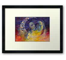 The Sun, the Moon...and the Truth  Framed Print