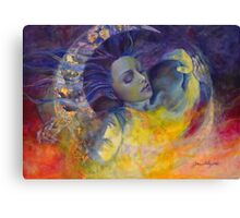 The Sun, the Moon...and the Truth  Canvas Print