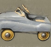 Antique Pedal Car by Michelle Calkins