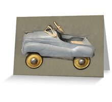 Antique Pedal Car Greeting Card