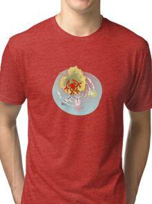 RED FROG - RedFrog in the Koi Pond Tri-blend T-Shirt