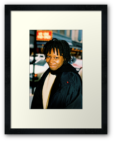 Whoopi On Broadway NYC by Jonathan  Green