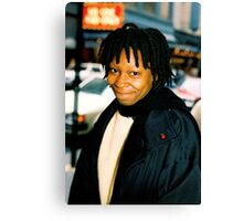 Whoopi On Broadway NYC Canvas Print