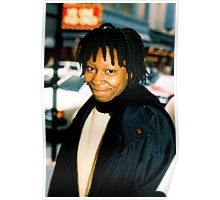 Whoopi On Broadway NYC Poster
