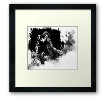 DAMAGE - brotherhood of the sword (PART 1): Tenebrae Et Lux Framed Print
