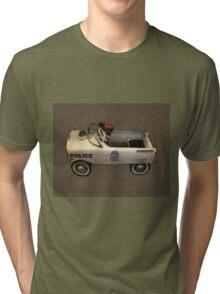 Police Pedal Car Tri-blend T-Shirt