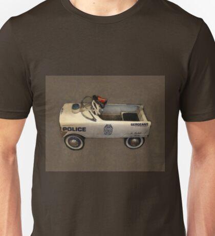 Police Pedal Car Unisex T-Shirt