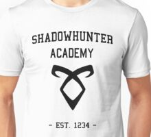 Welcome to Shadowhunter Academy Unisex T-Shirt