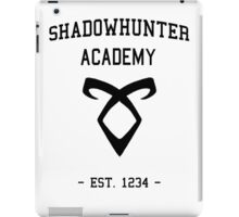 Welcome to Shadowhunter Academy iPad Case/Skin