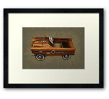 Super Sport Pedal Car Framed Print