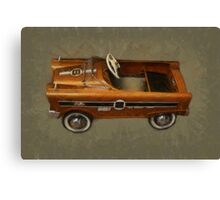 Super Sport Pedal Car Canvas Print